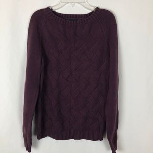 Lands End Drifter crew neck sweater
